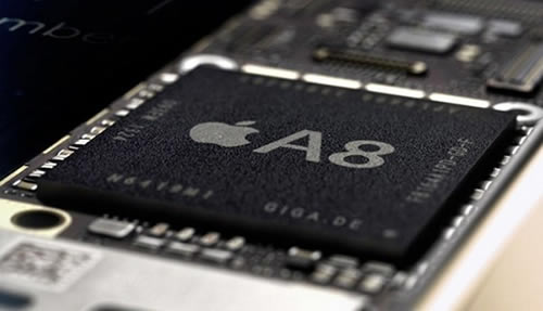 iPhone6に搭載のA8プロセッサーはクアッドコア、すでに生産中