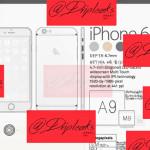 iPhone 6sは1200万画素、441ppi、厚さ6.7mm?