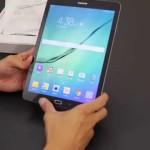 9.7インチで389g!Antutu54,000!iPadより薄い!Galaxy Tab S2、開封動画が公開