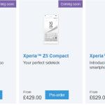 Xperia Z5シリーズの欧州価格、改正され最大約1万3000円下がる