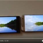 Galaxy S7 EdgeとXperia Z5のディスプレイ比較動画。+バッテリーなど使用感比較も
