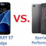 Xperia X PerformanceとGalaxy S7 edgeを比較6項目!スペック、撮影写真、待受・通話時間、周波数など