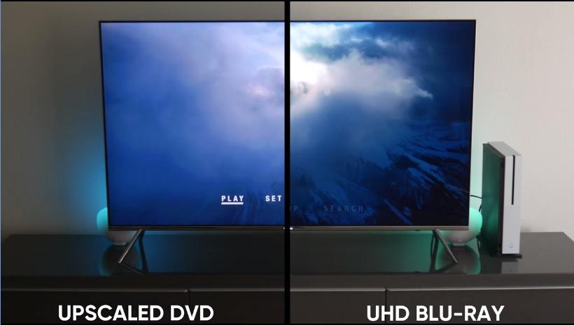 Xbox One Sで4K UHD Blu-ray・DVD・Blu-rayを動画再生比較、計6枚
