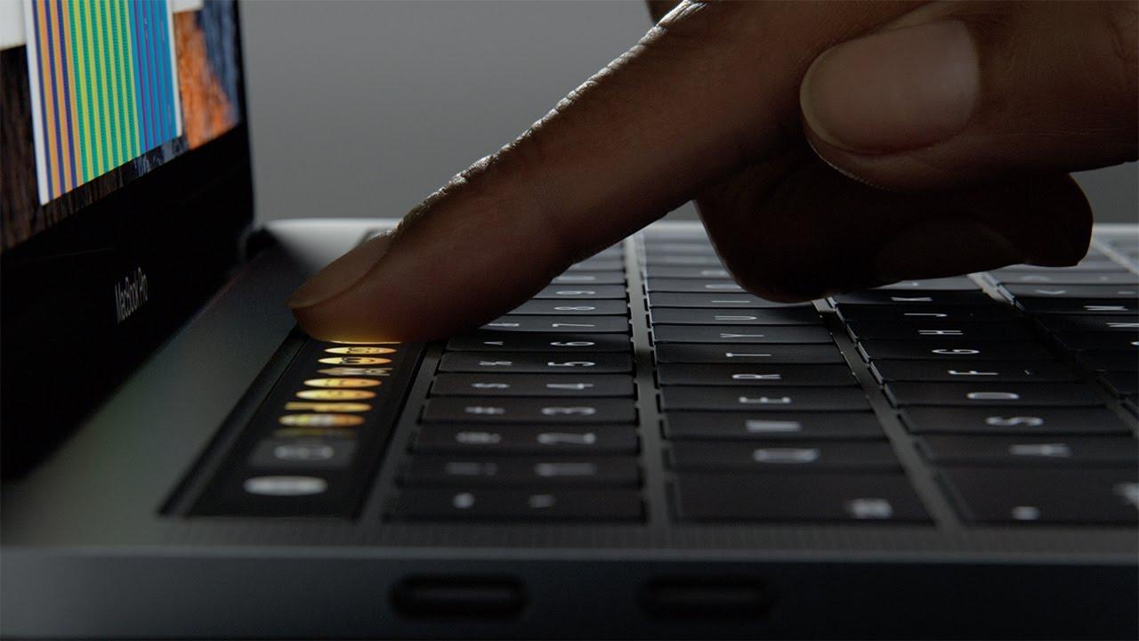 アップル、新型13/15インチMacBook Pro発表。Touch Bar・軽量薄型化・トラックパッド面積最大2倍、など