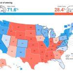 統計学者ネイト・シルバー「ヒラリー・クリントンの勝率が71.6%」