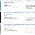 Xperia XZsが米Amazon.comで発売開始。価格約7.7万円
