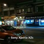 Xperia XZsとGalaxy S8+の夜間暗いところでの動画撮影・ビデオカメラ性能を比較。Xperia XZsのが優秀との声が多い