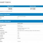 シャープの新型スマートフォン「FS8010」がリーク。スナドラ820を若干下回る程度の高性能