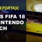 Nintendo Switch版『FIFA 18』のゲームプレイのようす
