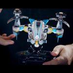 Switchほかで発売、実際のプラモデルみたくパーツを組みあわせオリジナル機体を作るシューティング『Starlink』のゲームプレイ動画