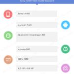 ソニー新型Xperia「G8441」のスペックがAntutuデータベースから見つかる。Snapdragon835・Android8.0・1280×720解像度